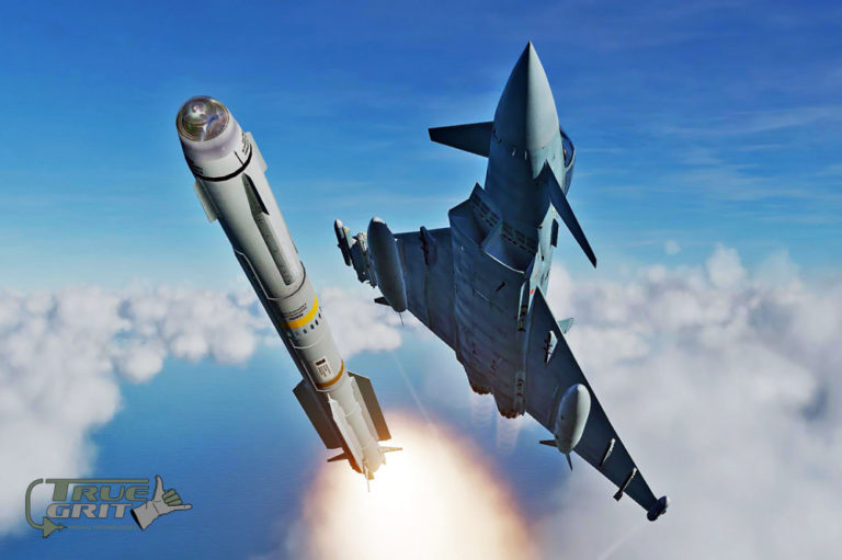 Iris-T Confirmado en el DCS: Eurofighter