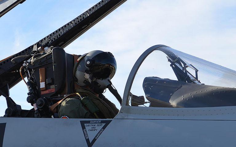 Scorpion: la ciencia ficción hecha visor para el piloto de combate español.