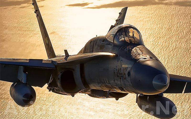 Los halcones del Ejército del Aire se jubilan: empieza el adiós a los F-18